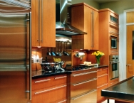 Kitchen cabinetry, wood, CNC